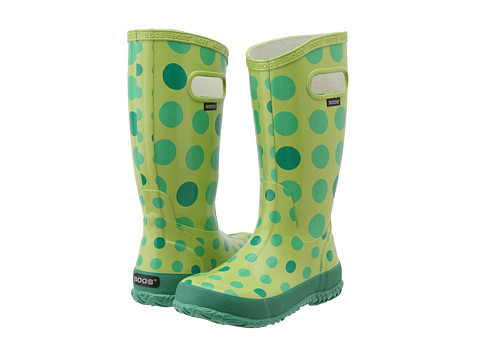 Bogs Kids - Dots (Toddler/Little Kid/Big Kid) (Green Multi) - Footwear