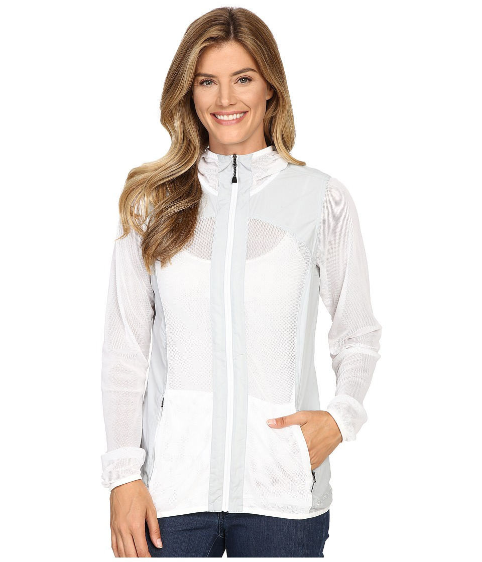 ExOfficio - BugsAway(r) Damselflytm Jacket (White/Oyster) Womens Jacket