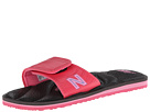 New Balance PlusH20 Slide Black, Pink Shoes