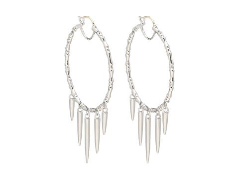 Stephen Webster Verne Bone Hoop Earrings with Hanging Daggers