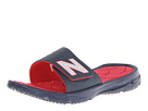 New Balance U3011 Rev Slide Navy, Red Shoes