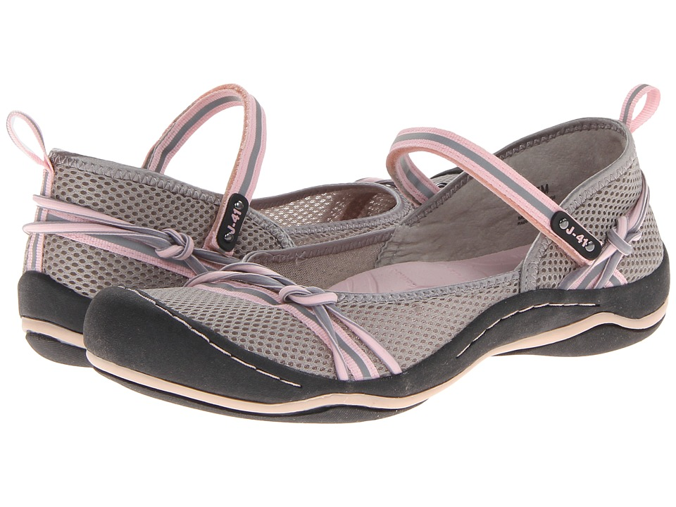 J 41 Misty Grey/Petal Womens Shoes