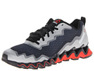 Reebok - Zigultra Crush (Black/Pure Silver/China Red/Steel) -