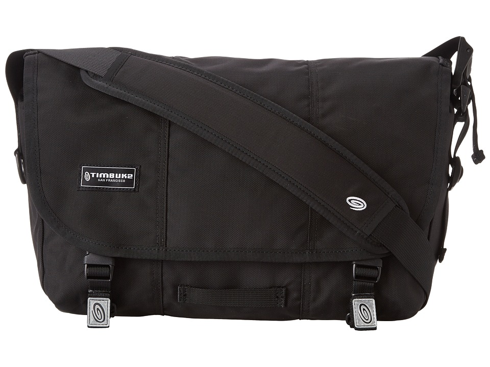 Timbuk2 - Classic Messenger Bag - Small (Black) Messenger Bags