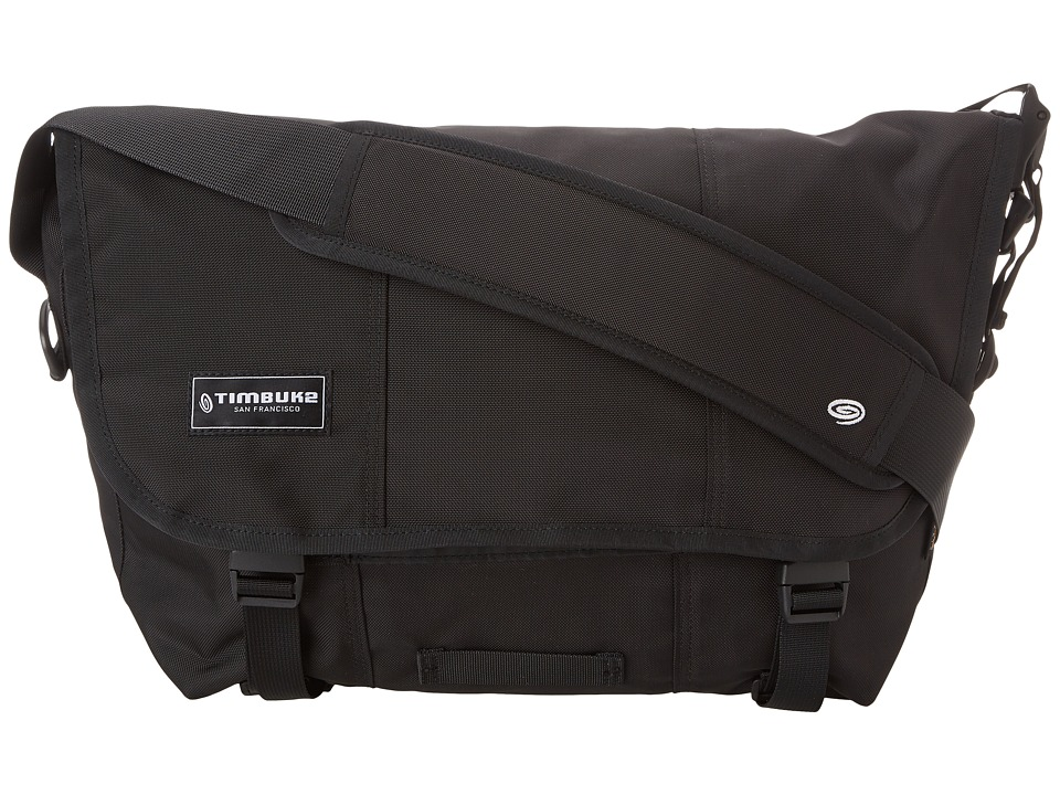 Timbuk2 - Classic Messenger Bag - Medium (Black) Messenger Bags