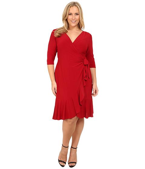 Kiyonna Whimsy Wrap Dress