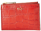 LAUREN Ralph Lauren - Lanesborough Key/Coin Case (Red)