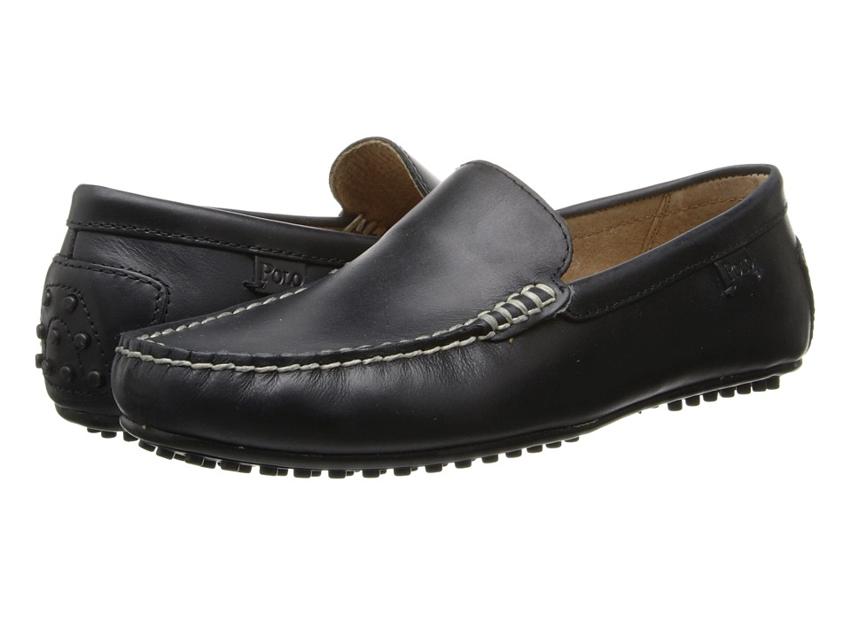 Polo Ralph Lauren - Woodley (Black) Mens Slip on  Shoes