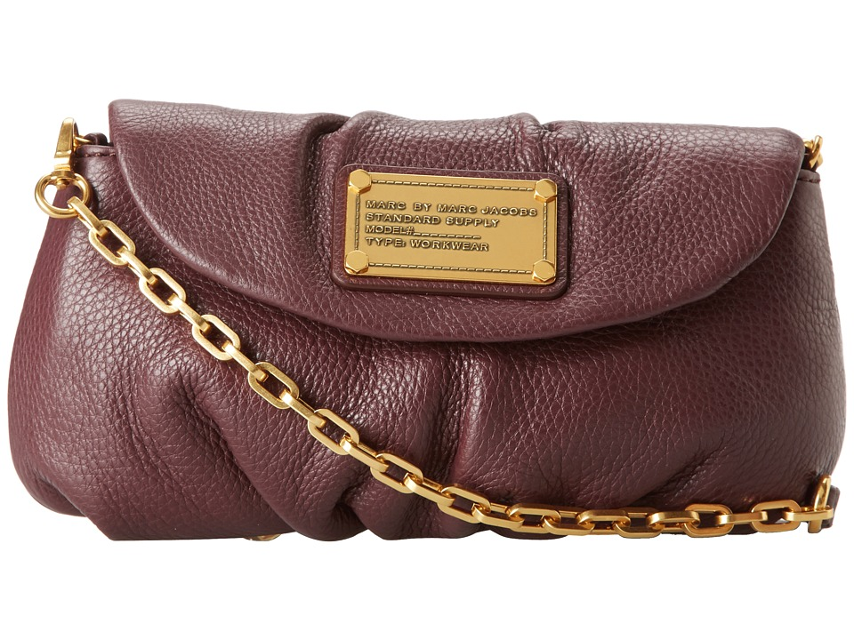 Marc by Marc Jacobs Classic Q Karlie Cardamom Brown Convertible Handbags