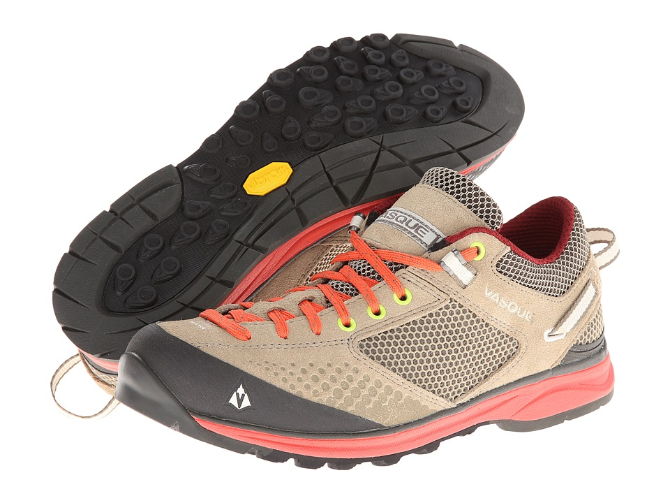Vasque - Grand Traverse (Aluminum/Hot Coral) Womens Shoes
