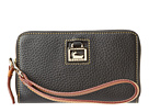 Dooney & Bourke Zip Around Credit Card Phone Wristlet