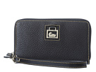 Dooney & Bourke Dillen Zip Around Credit Card Phone Wristlet