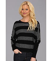 BCBGMAXAZRIA - Camille Striped Boat Neck Sweater