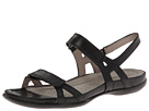 ECCO - Flash Ankle Sandal (Black Leather) -