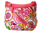 Vera Bradley - Puffy Crossbody (Clementine) - Bags and Luggage