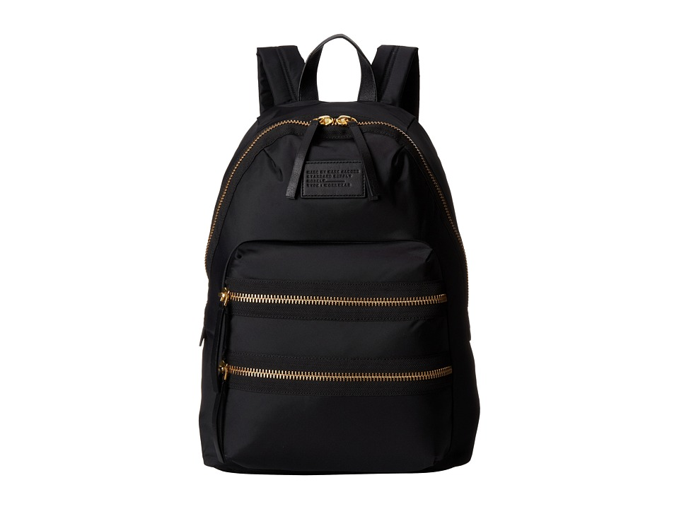 Marc by Marc Jacobs Domo Arigato Packrat Black Backpack Bags