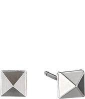 Marc by Marc Jacobs - New Plaque Tiny Studs