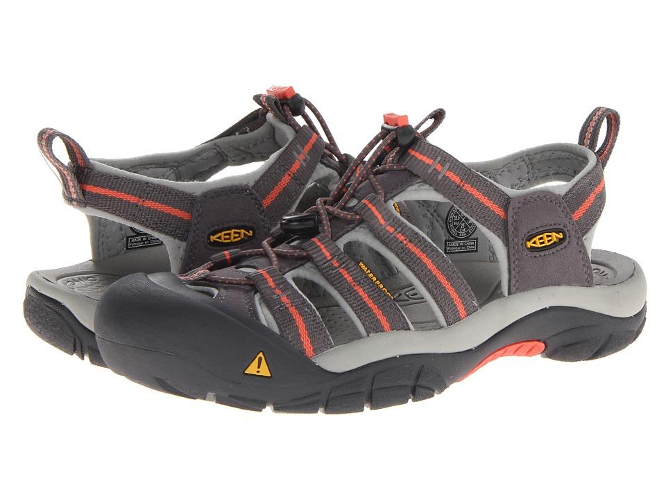 Keen Newport H2 (Magnet/Hot Coral) Women's Shoes