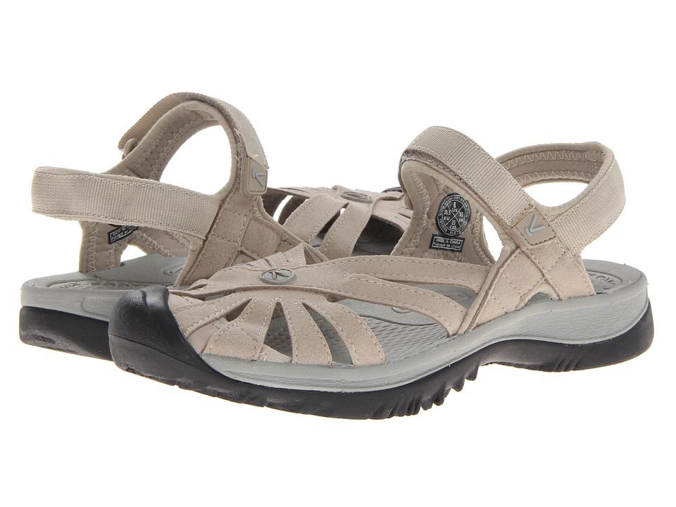 Keen Rose Sandal (Aluminum/Neutral Gray) Women's Shoes