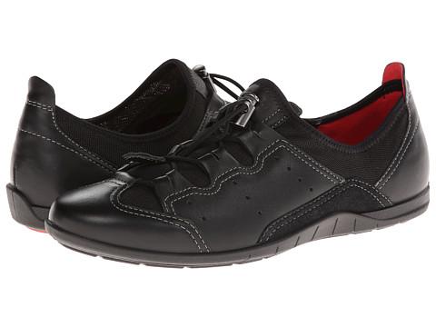 ECCO Bluma Toggle - Black/Black Feather/Textile