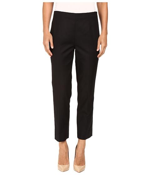 NIC+ZOE - The Chloe Perfect Pant - Side Zip Ankle (Black Onyx) Women's Casual Pants