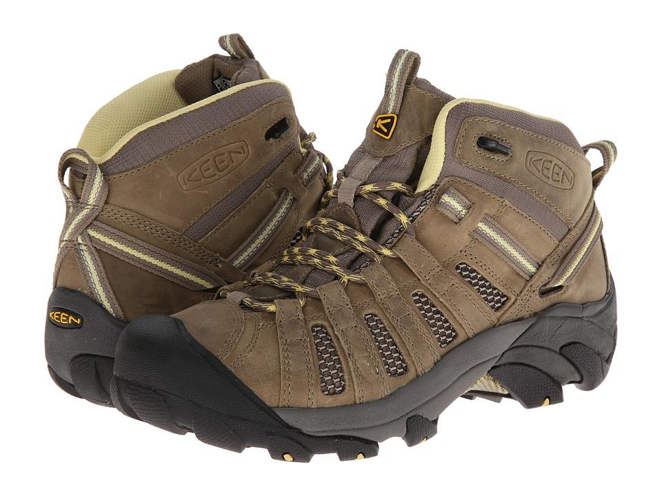 Keen Voyageur Mid (Brindle/Custard) Women's Hiking Boots