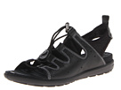 ECCO - Jab Toggle Sandal (Black/Black Feather/Textile/Sole) -