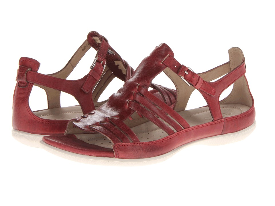ECCO Flash Huarache Sandal (Brick Ice Point) Women's Sandals