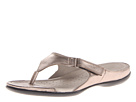 ECCO - Flash Thong (Warm Grey Metallic) -
