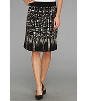 NIC+ZOE - Faded Squares Wink Skirt