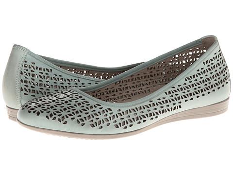ECCO - Touch 15 Laser Cut Ballerina (Ice Flower Whisper) - Footwear