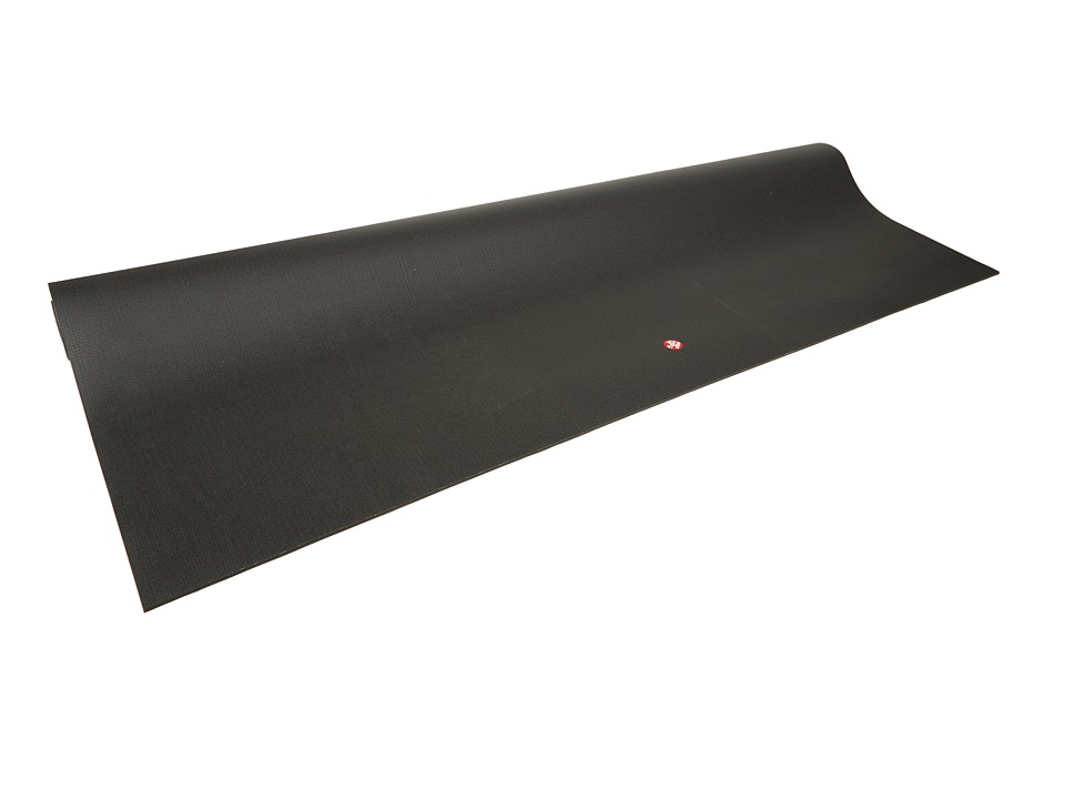 Manduka Manduka PRO Squared Home Practice Mat Black Athletic Sports Equipment