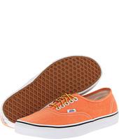 Vans Authentic Washed Vibrant Orange