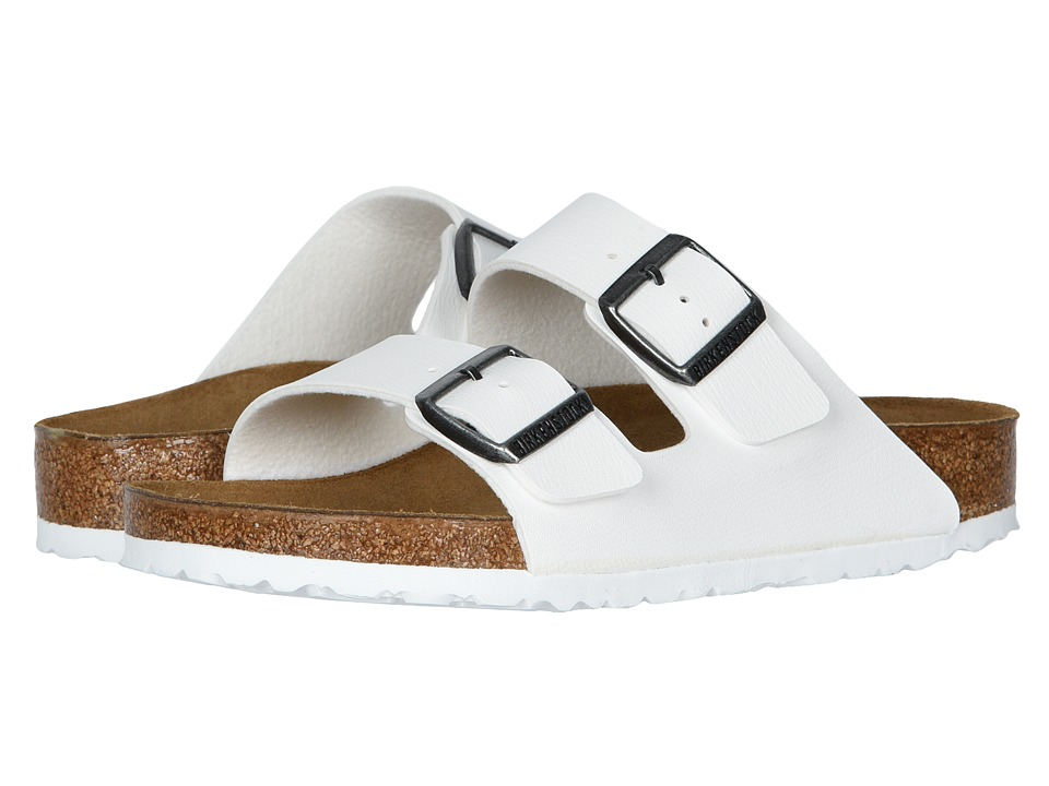 Birkenstock Arizona (White Birko-Flor ) Sandals