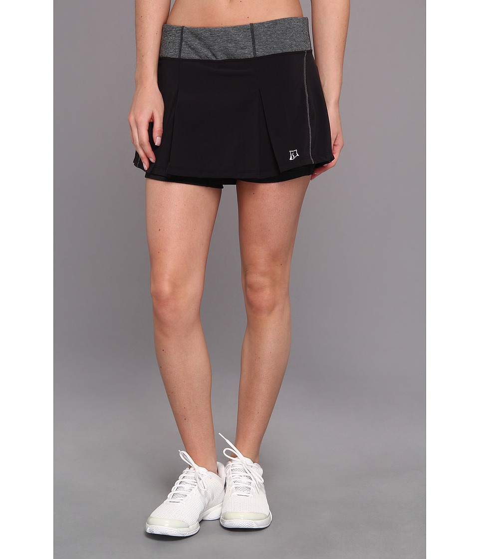 Skirt Sports - Jette Skirt (Black) Womens Skort