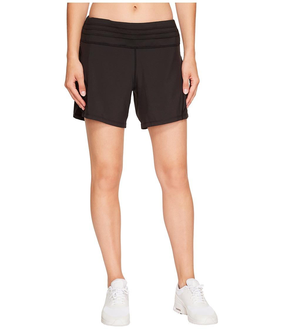 Skirt Sports - Go Longer Short (Black) Womens Shorts