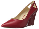 Nine West - Wayno (Red/Clear Leather) - Footwear