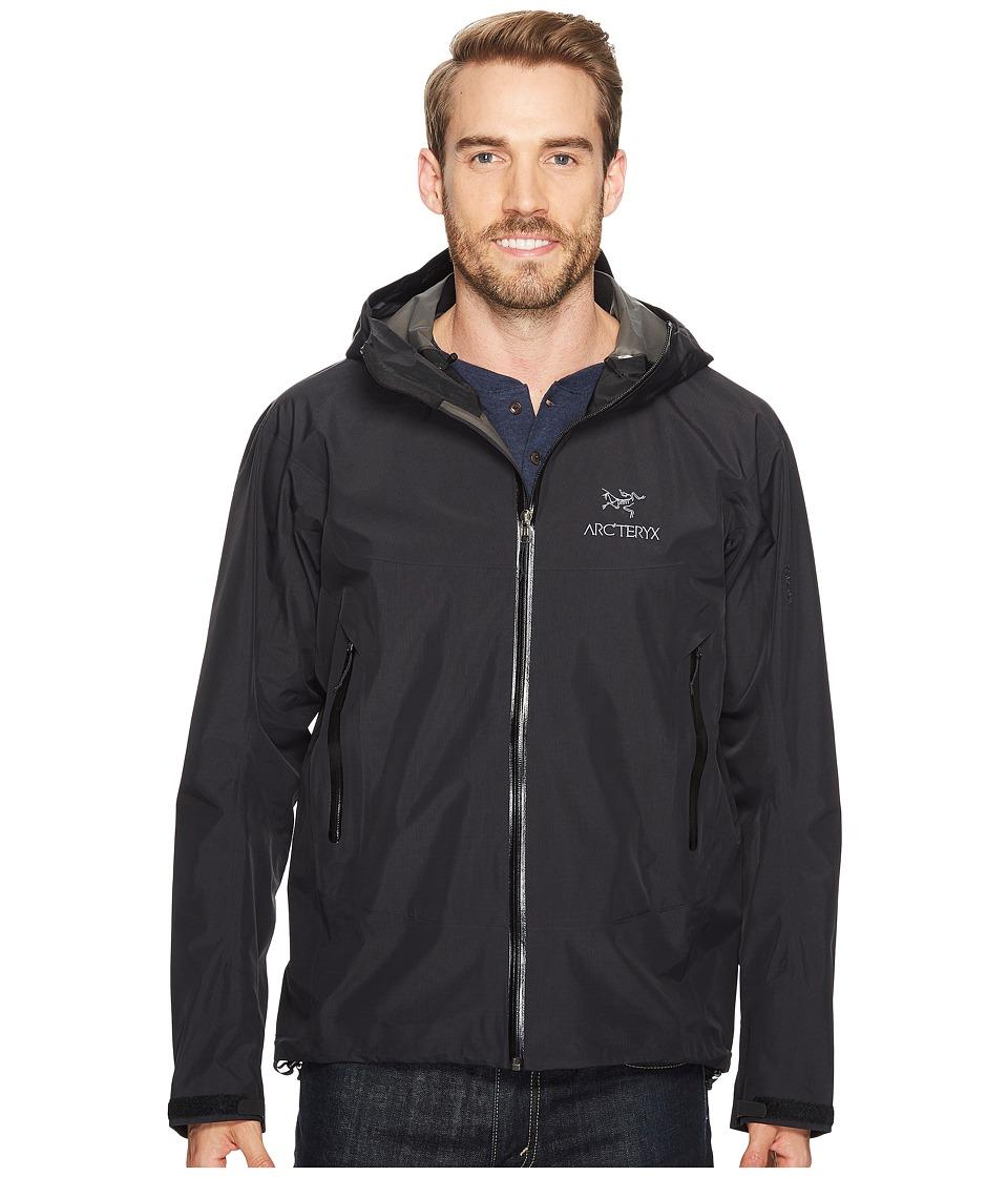 Arcteryx Beta SL Jacket Black Mens Coat