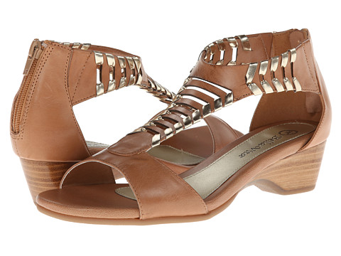 Bella-Vita - Padma (Camel) - Footwear, wide width womens sandals, wide fitting sandal, WW