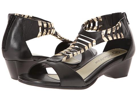 Bella-Vita - Padma (Black) - Footwear, womens wide width sandal