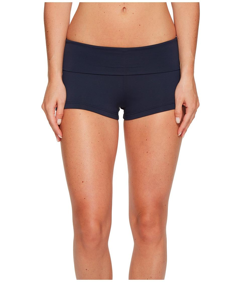 Seafolly Roll Top Boyleg (Indigo) Women's Swimwear