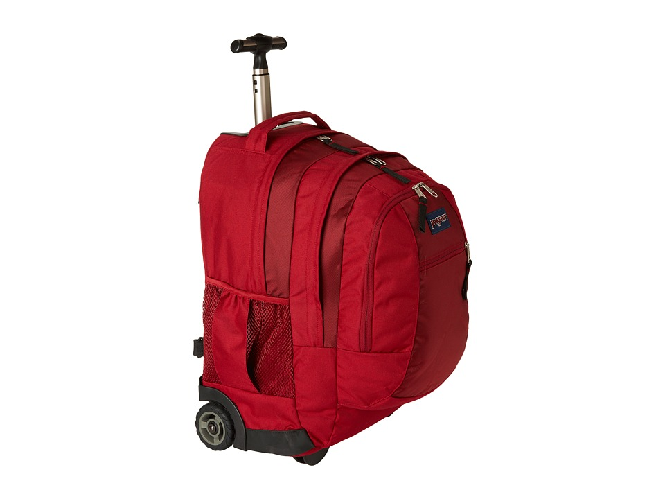 JanSport Driver 8 Wheeled Viking Red Backpack Bags