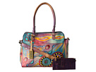 Anuschka Handbags - 521 (Tribal Sunset) - Bags and Luggage