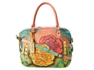 Anuschka Handbags - 526 (Colorful Carnations) - Bags and Luggage
