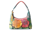 Anuschka Handbags - 371 (Colorful Carnations) - Bags and Luggage