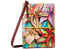 Anuschka Handbags - 412 (Luscious Lilies) - Bags and Luggage