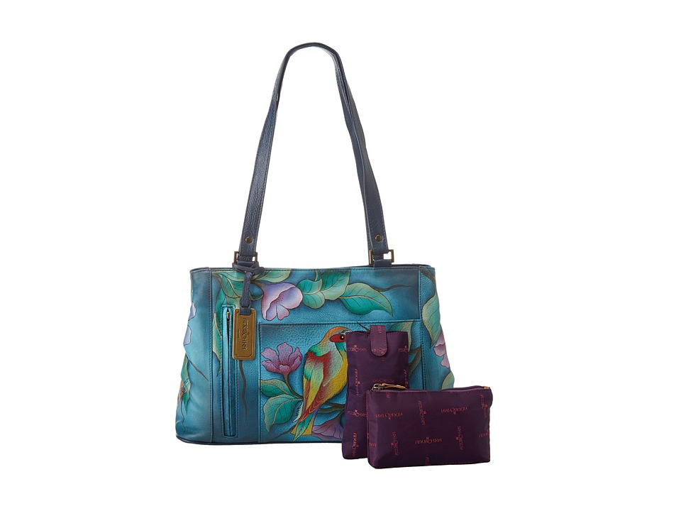 Anuschka Handbags - 449 (Hawaiian Twilight) Handbags