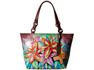 Anuschka Handbags - 524 (Luscious Lilies) - Bags and Luggage