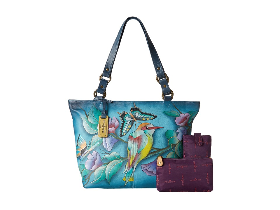 Anuschka Handbags - 524 (Hawaiian Twilight) Tote Handbags