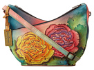 Anuschka Handbags - 518 (Colorful Carnations) - Bags and Luggage